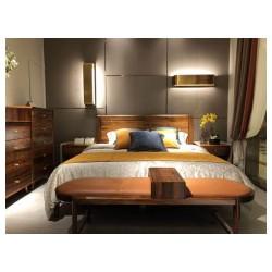 实木木床公司——佛山销量好的全实木床,认准创辉家具