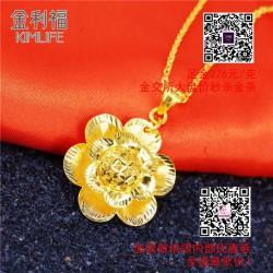 湖北黄金项链|【金利福】|黄金项链品牌