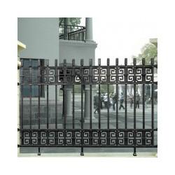 供应 铝合金材质栏杆别墅室内外阳台护栏楼顶天台安全防护围栏
