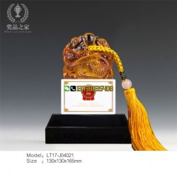 中国共产党成立100周年纪念品 行政玉玺摆件 厂家直销