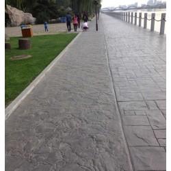 安徽彩色印花混凝土路面