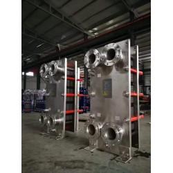 25平方全铝制冷却器 冷却循环系统水冷器 冷却板式换热器