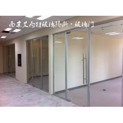 南京钢化玻璃门