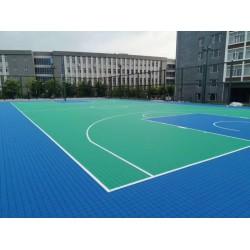盐城室外球场用组合式运动地板价格 悬浮